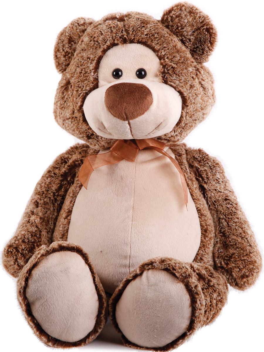 Button Blue Мягкая игрушка Мишка Потап цвет коричневый 40 см41-1127D1Мягкая игрушка Мишка Потап, выполнена в виде очаровательного медвежонка. Игрушка изготовлена из плюша и искусственного меха коричневого цвета. У Потапа пластиковые черные глазки, милая улыбка и коричневый бантик на шее. Удивительно мягкая игрушка принесет радость и подарит своему обладателю мгновения нежных объятий и приятных воспоминаний. Великолепное качество исполнения делают эту игрушку чудесным подарком к любому празднику. Трогательная и симпатичная, она непременно вызовет улыбку у детей и взрослых.