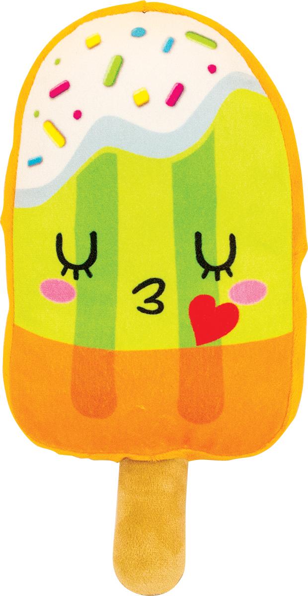 Button Blue Мягкая игрушка Мороженка-романтик 20 см42, 42-DT160843-1Мягкая игрушка Мороженка-романтик, выполнена в виде забавного эскимо. Игрушка изготовлена из яркого текстиля с цветными полосками и нарисованными закрытыми глазками и губками. Удивительно мягкая игрушка принесет радость и подарит своему обладателю мгновения приятных воспоминаний. Великолепное качество исполнения делают эту игрушку чудесным подарком к любому празднику. Трогательная и симпатичная, она непременно вызовет улыбку у детей и взрослых.