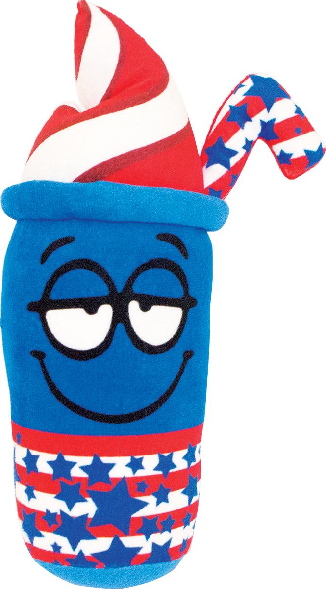Button Blue Мягкая игрушка Коктейль-американер 20 см42, 42-DT160843-4Мягкая игрушка Коктейль-американер, выполнена в виде забавного стаканчика с трубочкой. Игрушка изготовлена из яркого текстиля. У коктейля нарисованы большие глазки и довольная улыбка. Удивительная мягкая игрушка принесет радость и подарит своему обладателю мгновения хорошего настроения и приятных воспоминаний. Великолепное качество исполнения делают эту игрушку чудесным подарком к любому празднику. Трогательная и симпатичная, она непременно вызовет улыбку у детей и взрослых.