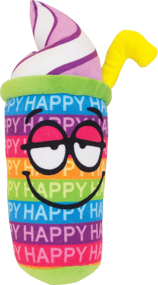 Button Blue Мягкая игрушка Коктейль-счастье 20 см42, 42-DT160843-5Мягкая игрушка Коктейль-счастье, выполнена в виде забавного стаканчика с трубочкой. Игрушка изготовлена из яркого текстиля. У коктейля нарисованы большие глазки и довольная улыбка. Удивительная мягкая игрушка принесет радость и подарит своему обладателю мгновения хорошего настроения и приятных воспоминаний. Великолепное качество исполнения делают эту игрушку чудесным подарком к любому празднику. Трогательная и симпатичная, она непременно вызовет улыбку у детей и взрослых.