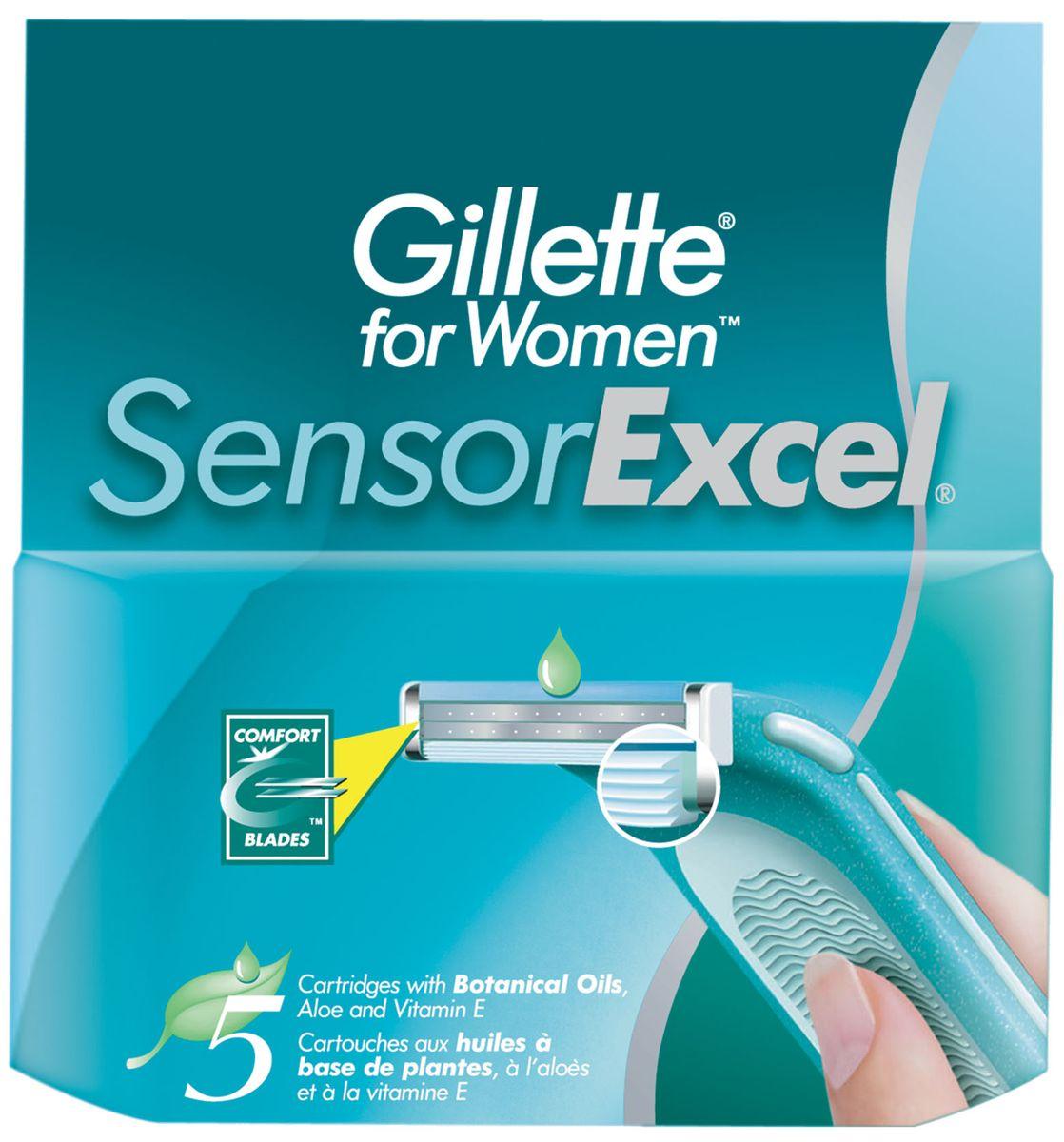 Sensor Excel Cменные кассеты для бритья , 5 шт.SNS-81237164Бритвенные кассеты для Gillette Sensor Excel содержат 2 последовательно расположенных хромированных лезвия, 5 микрогребней для гладкого бритья и смазывающую полоску алоэ-вера. Сменные кассеты с двумя лезвиями для чистого и комфортного бритья по доступной цене. Срок хранения – 5 лет. Страна производства – Польша.