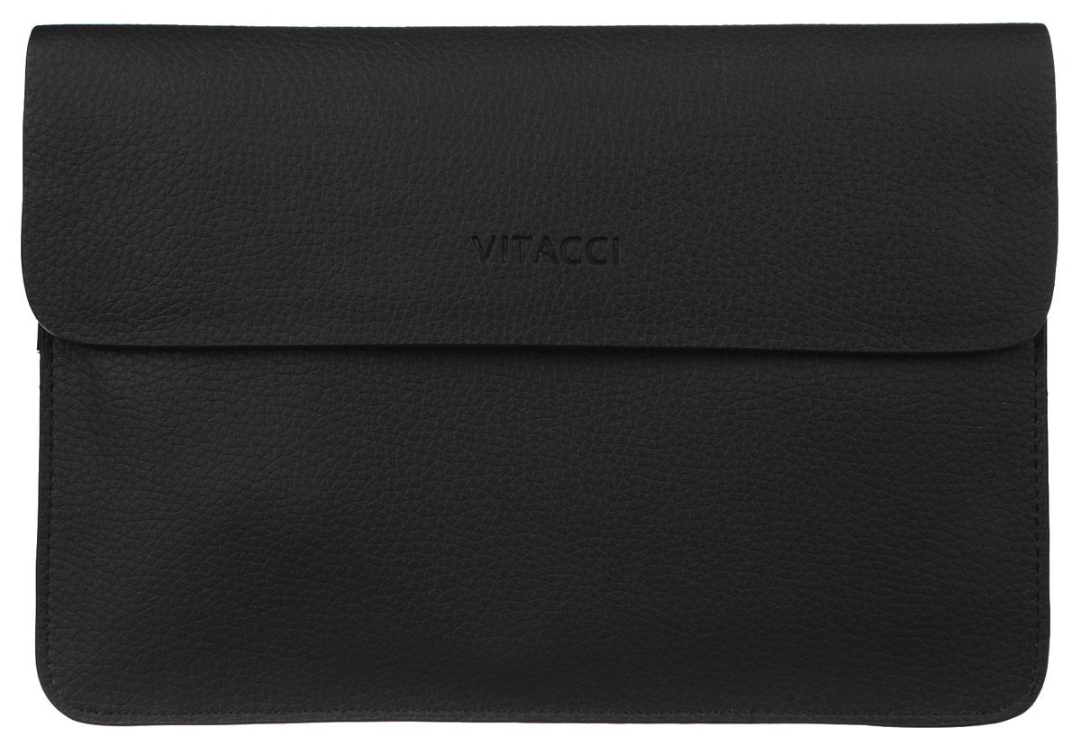 Сумка мужская Vitacci, цвет: черный. MW046MW046Мужская сумка Vitacci выполнена из искусственной кожи зернистой фактуры черного цвета. Сумка имеет три отделения, которые закрываются на замок-молнию и дополнительно клапаном на магниты. Внутри - два двусторонних накладных кармана с отделениями для фотографий и визиток, врезной карман на молнии и большой накладной карман для телефона и мелких принадлежностей. На лицевой стороне сумки, под клапанам расположен глубокий врезной карман. Такая сумка подчеркнет вашу яркую индивидуальность и оригинально дополнит ваш образ.