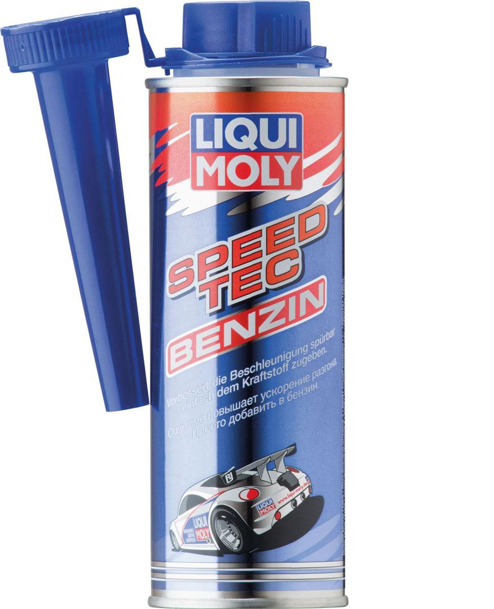 Присадка Liqui Moly Speed Tec Benzin, в бензин, 0,25 л3940Присадка Liqui Moly Speed Tec Benzin - это специальное средство, модифицирующее бензин для максимально эффективного сгорания рабочей смеси. Повышает мощность двигателя и крутящий момент. Продукт совместим с любыми видами бензина и присадками любого качества. Особенности: Нет металлоорганических соединений. Более высокий выход мощности. Лучшие ходовые качества. Не влияет на октановое число. Улучшает ускорение транспортного средства. Очищает систему впуска. Основа: комбинация присадок в несущей жидкости. Товар сертифицирован.