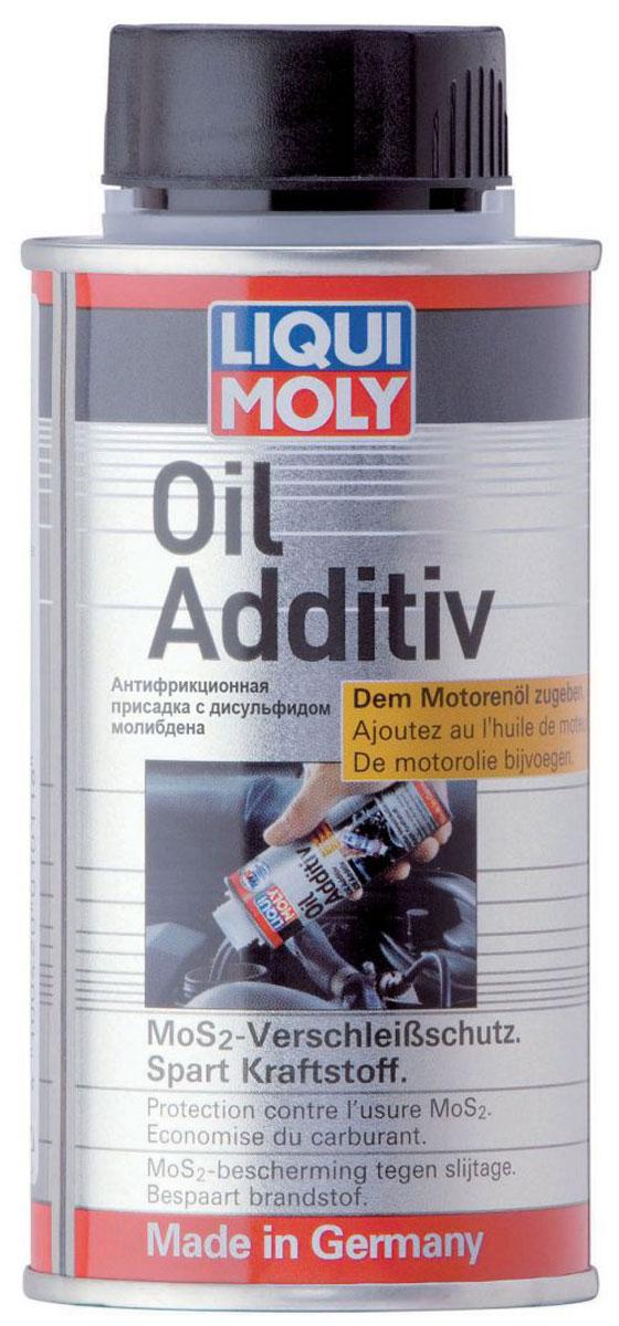 Присадка антифрикционная LiquiMoly Oil Additiv, в моторное масло, 0,125 л3901Фирменная антифрикционная присадка на основе дисульфида молибдена. Благодаря слоистой структуре MoS2 существенно снижает трение деталей двигателя и упрочняет их поверхности. Рекомендуется для автомобилей предыдущих поколений ( без сажевых фильтров и катализаторов).