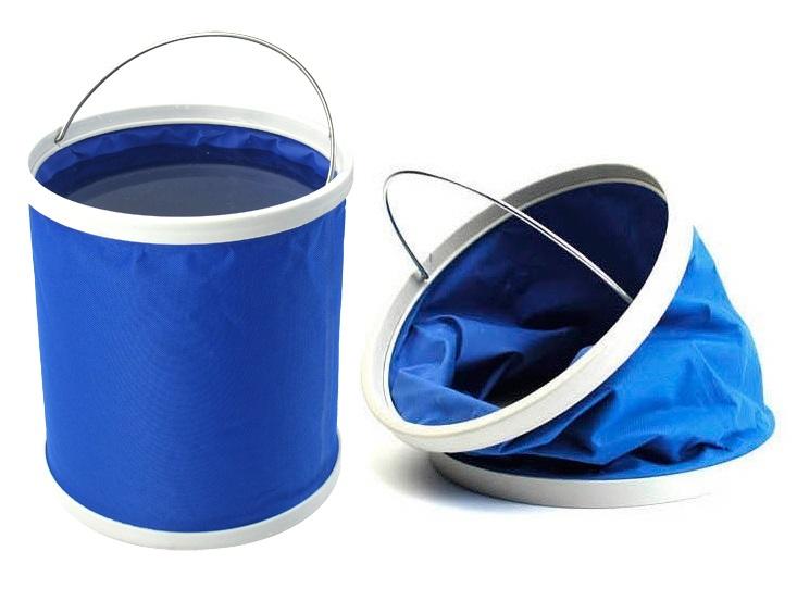Ведро складное Reka, цвет: синийCBK-001Основные характеристики: Размер: 24x30 см Материал: 600D водонепроницаемый+PVC, пластиковый ободок. Объем: 13л. Цвет: синий Страна-производитель: Китай Упаковка: цветная коробка Идеально в применении для множества целей. Подойдет и для рыбака, и для туриста.
