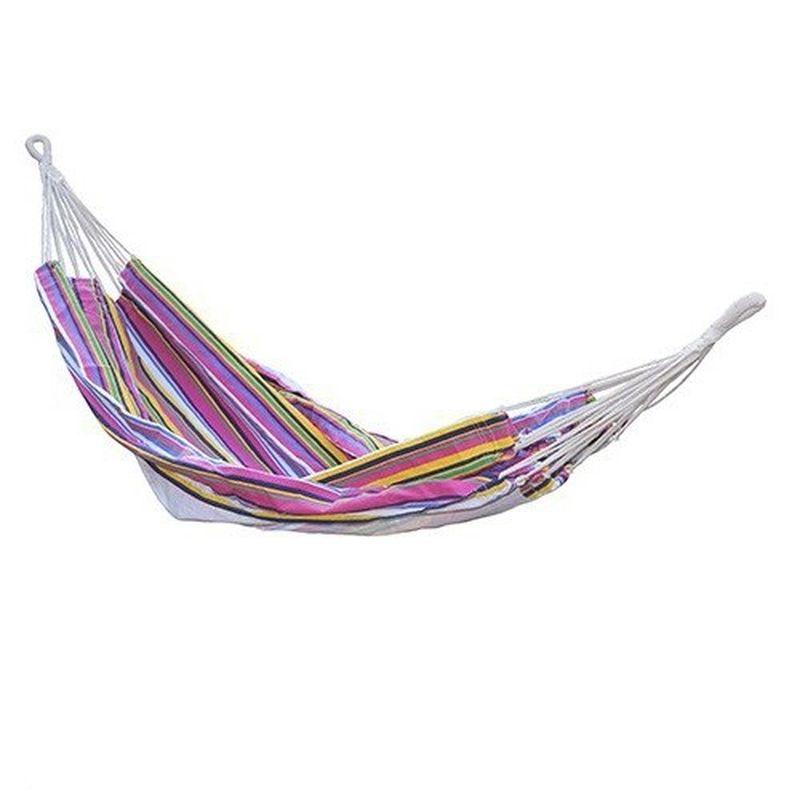 Гамак Reka, цвет: мультиколорGM-048Основные характеристики: Размер: 200х145см Материал: полиэстер, хлопок. Максимальная нагрузка: 100кг Вес: 1,3кг Страна-производитель: Китай Упаковка: пакет