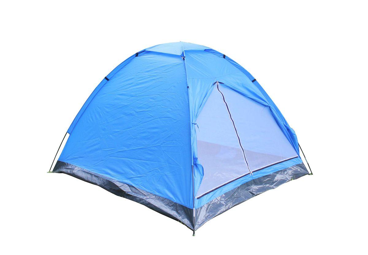 Палатка 3-местная Reka, цвет: синий