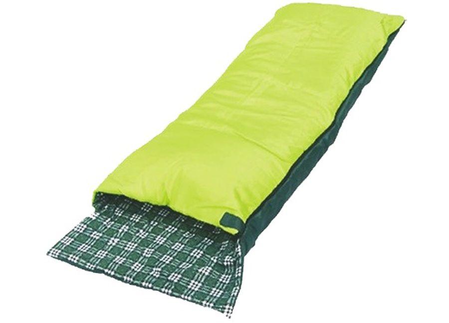 Спальный мешок Чайка SOFT 200, цвет: салатовый, правосторонняя молнияSOF200Основные характеристики Тип: одеяло с подголовником Размер: 190+25х75см Материал наружный: Полиэстеровая Таффета 190T Материал внутренний: фланель (100% хлопок) Наполнитель: термофайбер 200г/м2 Температурный режим: +5/+20 С Вес: 1,25 кг Страна-производитель: Россия Упаковка: чехол Практичная модель для летнего сезона в туризме и активного отдыха на природе. Разъемные двухзамковые молнии позволяют объединить два спальных мешка в один двойной. Синтетический утеплитель нового поколения термофайбер обладает повышенными теплоизолирующими свойствами. Он легкий, мягкий, особо теплый, хорошо пропускает воздух, не впитывает влагу. Можно расстегнуть молнию и использовать спальник как обыкновенное одеяло. Комплектуется компактным чехлом.