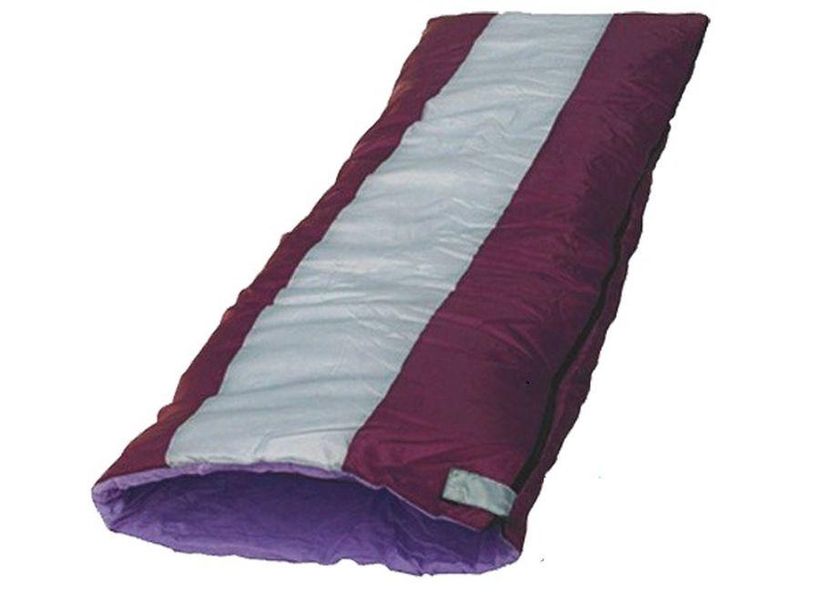 Спальный мешок Чайка NAVY 150, цвет: бордовый, белый, правосторонняя молнияNAV150Основные характеристики Тип: одеяло Размер: 200х75см Материал наружный: Полиэстеровая Таффета 190T Материал внутренний: бязь (100% хлопок) / эпонж (100% полиэстер) Наполнитель: термофайбер 150г/м2 Температурный режим: +10/+25 С Вес: 0,92 кг Страна-производитель: Россия Упаковка: чехол Практичная модель для летнего сезона в туризме и активного отдыха на природе. Разъемные двух замковые молнии позволяют объединить два спальных мешка в один двойной. Можно расстегнуть молнию и использовать спальник как обыкновенное одеяло. Синтетический утеплитель нового поколения термофайбер обладает повышенными теплоизолирующими свойствами. Он легкий, мягкий, особо теплый, хорошо пропускает воздух, не впитывает влагу. Комплектуется компактным чехлом.