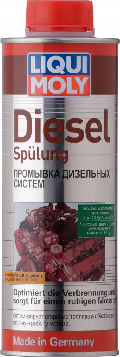 Промывка Liqui Moly Diesel Spulung, для дизельных систем, 0,5 л1912Промывка Liqui Moly Diesel Spulung - это высокоэффективное средство для дизельного топлива, очищающее форсунки от нагара и отложений. Использование присадки позволяет также защитить топливную систему от коррозии, улучшить параметры двигателя за счет повышения цетанового числа и улучшения процесса сгорания топлива. Особенности: Очищает топливную систему. Удаляет нагар и отложения с форсунок. Повышает цетановое число дизельного топлива. Предотвращает закисание игл. Защищает от коррозии. Обеспечивает оптимальное сгорание топлива. Улучшает эксплуатационные показатели автомобиля, мощность и приемистость. Основа: присадки, растворенные в носителе. Товар сертифицирован.