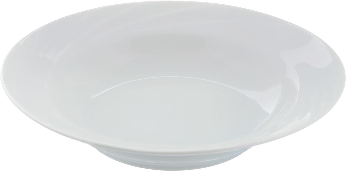 Тарелка глубокая Голубка. Белье, диаметр 20 см508020Глубокая тарелка Голубка. Белье выполнена из высококачественного фарфора. Она прекрасно впишется в интерьер вашей кухни и станет достойным дополнением к кухонному инвентарю. Тарелка Голубка. Белье подчеркнет прекрасный вкус хозяйки и станет отличным подарком.