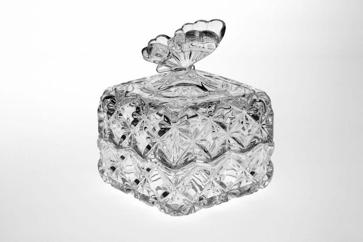 Доза Crystal Bohemia Бабочка, 9,6 см, квадратная990/57901/1/65400/096-109Настоящий чешский хрусталь с содержанием оксида свинца 24%, что придает изделиям поразительную прозрачность и чистоту, невероятный блеск, присущий только ювелирным изделиям , особое, ни с чем не сравнимое светопреломление и игру всеми красками спектра как при естественном, так и при искуственном освещении. Продукция из Хрусталя соответствуют всем европейским и российским стандартам качества и безопасности. Традиции чешских мастеров передаются из поколения в поколение. А высокая художаственная ценность иделий признана искушенными ценителями во всем мире. Продукция из Хрусталя соответствуют всем европейским и российским стандартам качества и безопасности.