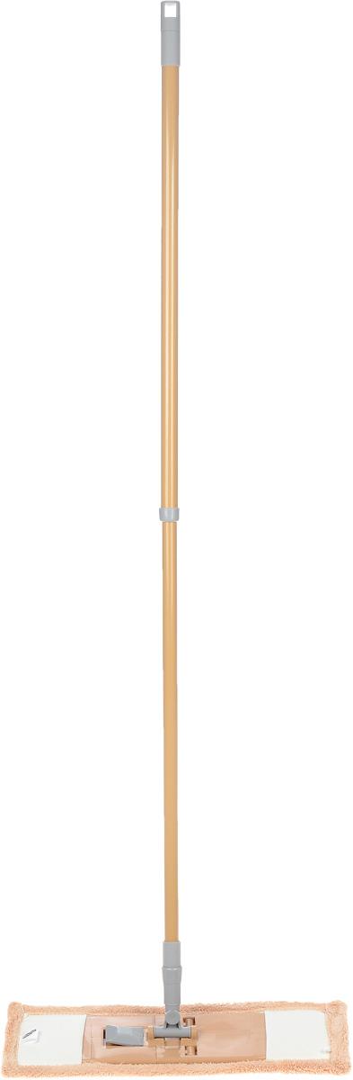 Швабра Флэт, с телескопической ручкой и сменной насадкой, цвет: бежевый. 14022111.4.02.2118Легкая и удобная протирочная швабра Флэт предназначена для мытья полов, стен, потолков и других больших поверхностей. Она выполнена из высококачественного металла и пластика, а также оснащена коротковорсной насадкой их микрофибры. Подвижное крепление телескопической рукоятки к насадке позволяет мыть полы в труднодоступных местах. Насадка легко удаляет пыль, не оставляя разводов и ворсинок. Благодаря такой швабре, уборка станет легким и приятным делом, а время работы сократится в несколько раз. Длина ручки: 52-128 см. Размер насадки: 44 х 14 х 2 см.