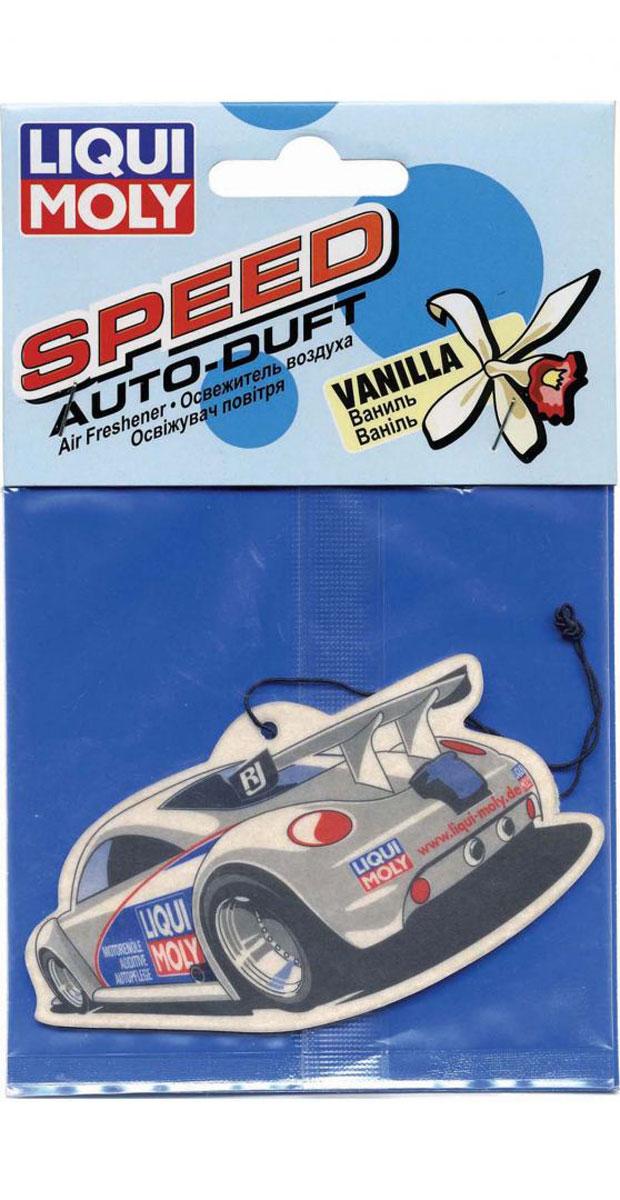 Освежитель воздуха Liqui Moly Auto-Duft Speed, ваниль1665Картридж с ароматической пропиткой для придания свежести в салоне автомобиля.