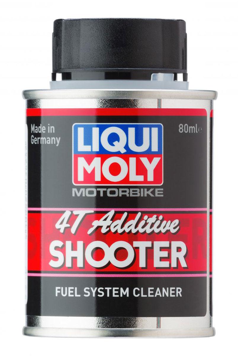 Очиститель топливной системы LiquiMoly Motorbike 4T Additiv Shooter , 0,08 л20591Присадка для улучшения разгонной динамики 2-х и 4-х тактной мототехники.