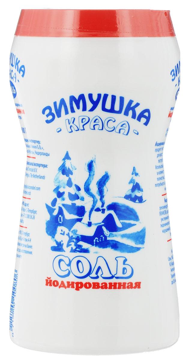 Зимушка-краса Экстра соль йодированная, 600 гбта465Йодированная соль - обогащенный продукт питания, предназначенный для восстановления дефицита поступления йода с пищей. Ее использование в количестве 5-6 граммов в день полностью обеспечивает суточную потребность в этом микроэлементе.