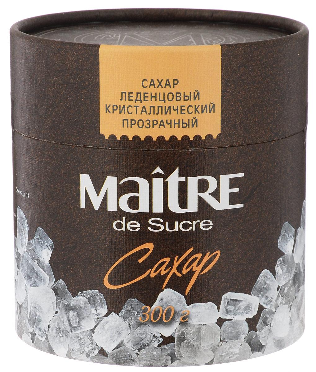 Maitre de Sucre сахар леденцовый прозрачный кристаллический, 300 гбсб020Сахар Maitre de Sucre - отличная альтернатива для любителей конфет и леденцов. При заливании кипятком эти белые прозрачные кристаллы издают характерный звук, напоминающий морозный треск. Идеален для чая.