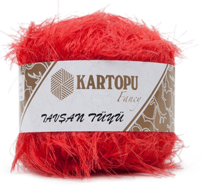 Пряжа для вязания Kartopu Tavsan Tuyu, 100 г, 50 м, 10 шт. 372107_812372107_812Пряжа-травка от бренда Kartopu имеет своеобразную структуру, похожую на мех. Такая пряжа придает изделиям интересный и объемный вид.