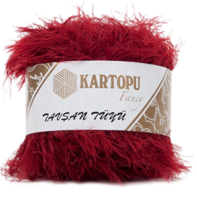 Пряжа для вязания Kartopu Tavsan Tuyu, 100 г, 50 м, 10 шт. 372107_3006372107_3006Пряжа-травка от бренда Kartopu имеет своеобразную структуру, похожую на мех. Такая пряжа придает изделиям интересный и объемный вид.