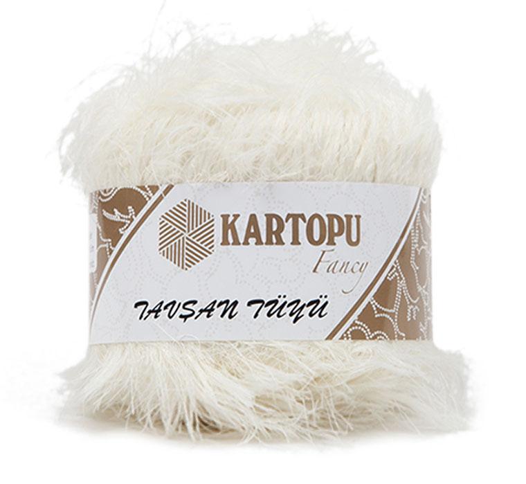 Пряжа для вязания Kartopu Tavsan Tuyu, 100 г, 50 м, 10 шт. 372107_3002372107_3002Пряжа-травка от бренда Kartopu имеет своеобразную структуру, похожую на мех. Такая пряжа придает изделиям интересный и объемный вид.