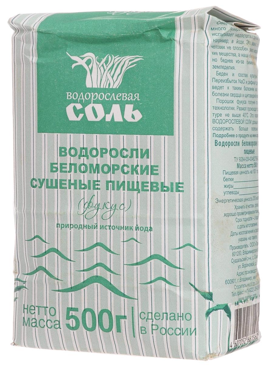 Гарнец Фукус водорослевая соль, 500 г