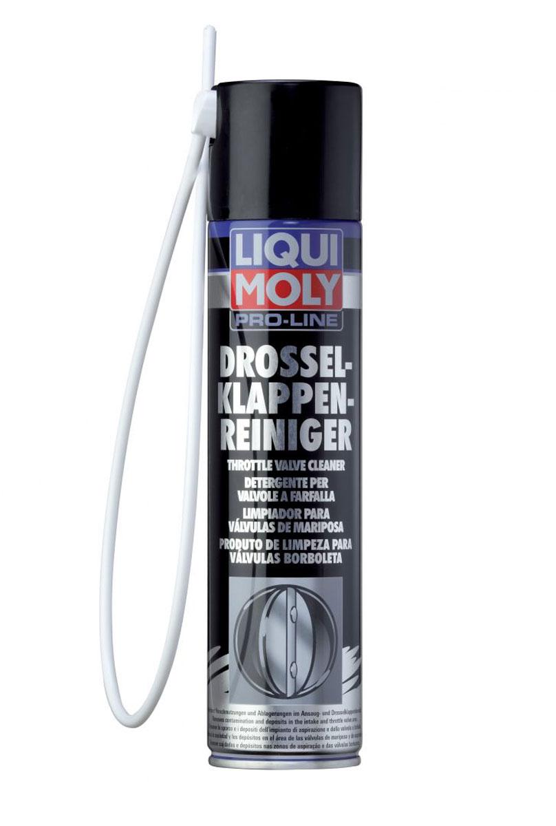 Очиститель дроссельных заслонок Liqui Moly Pro-Line Drosselklappen-Reiniger, 0,4 л7578Liqui Moly Pro-Line Drosselklappen-Reiniger - это специальное активное растворяющее средство для очистки типичных загрязнений, нагаров и отложений в области впуска и дроссельных заслонок в автомобилях с бензиновыми двигателями. Растворяет и удаляет все масляные отложения и загрязнения, как например, масло, смола, клей и другие. Также надежно очищает инжекторы и внутренние детали. Обеспечивает функциональность и подвижность деталей, уменьшает расход топлива. Только для бензиновых двигателей! Особенности: Быстрая и эффективная очистка. Процесс очистки не требует демонтажа. Просто и экономично в применении. Совместимо с катализаторами. Зонд с распылителем в комплекте. Основа: смесь растворителя. Товар сертифицирован.