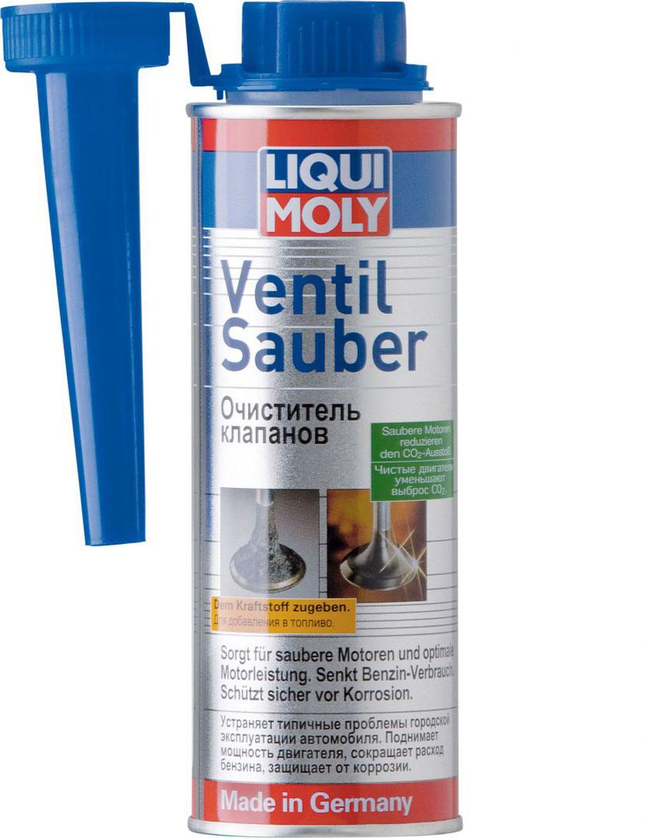 Очиститель клапанов LiquiMoly Ventil Sauber LiquiMoly, 250 мл1989Средство для очистки клапанов. Максимально эффективно избавляет клапаны от нагара и отложений. Оптимально очищает от отложений всю систему впрыска, в том числе камеру сгорания.