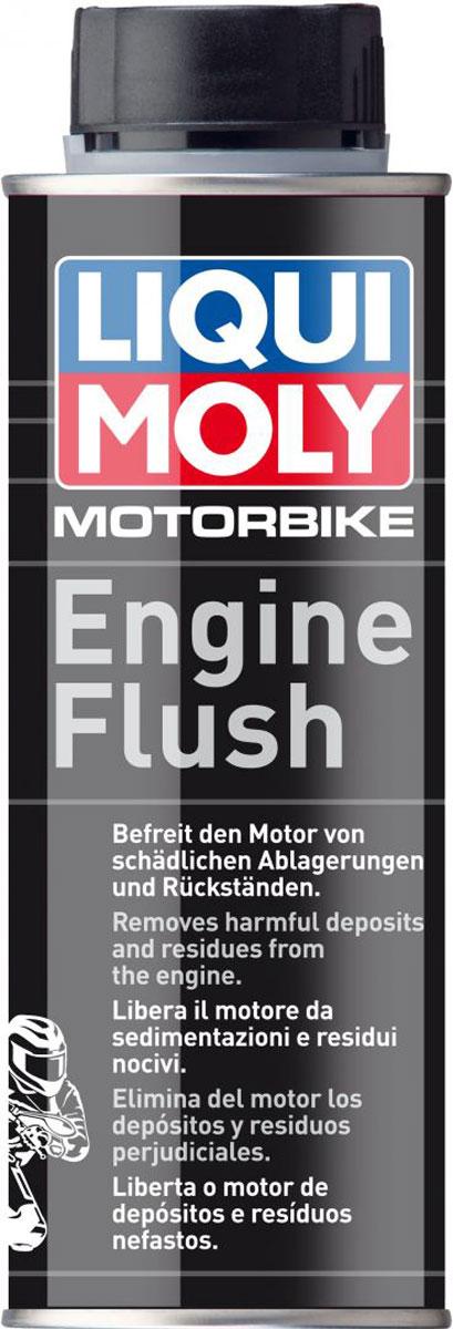 Очиститель мотора LiquiMoly Motorrad Engine Flush , 0,25 л1638Моющая присадка для очистки масляной системы мотоциклетной техники перед заменой масла.