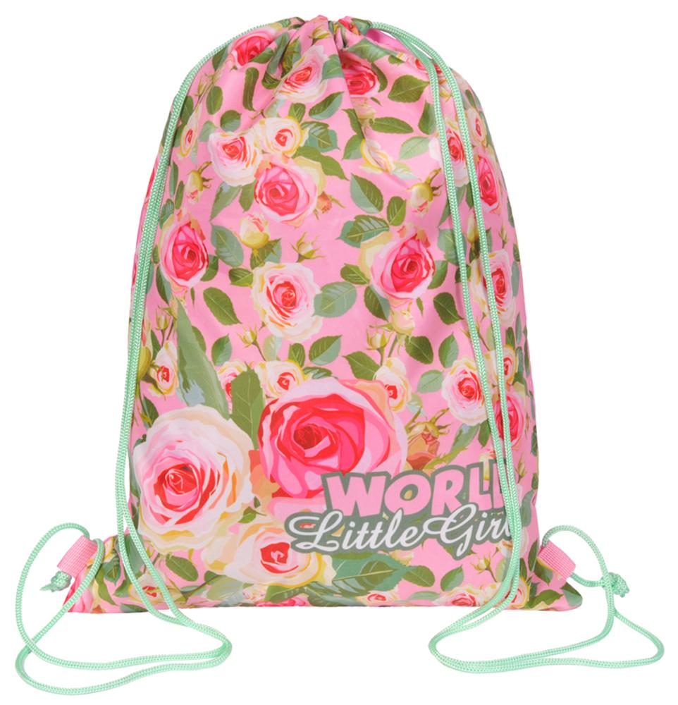 Grizzly Мешок для обуви цвет розовый OM-668-4/1