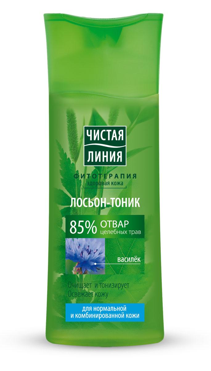 Чистая Линия Фитотерапия Лосьон-тоник Василек 100 мл ( 65500743 )