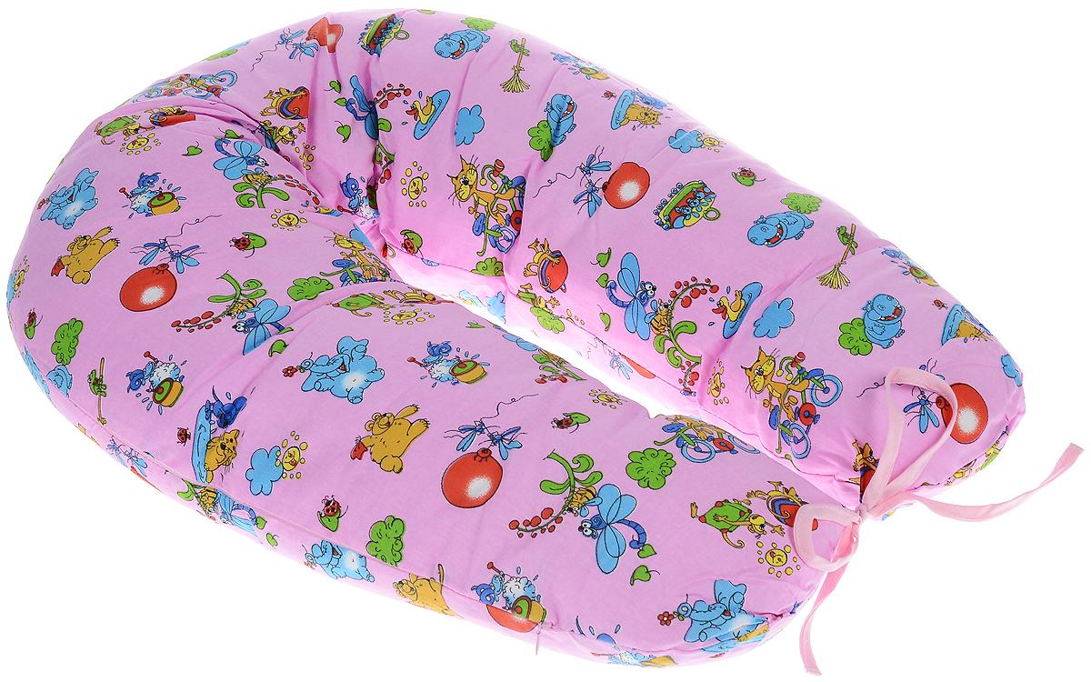 Фэст Подушка для беременных и кормящих мам Зоопарк цвет розовыйПодушка многофункциональнПодушка для беременных и кормящих мам Фэст Зоопарк - это удобная и практичная вещь, которая прослужит вам долгое время. Подушка имеет форму подковы. Предназначена для беременных и кормящих мам, позволяет принять удобное положение во время сна, отдыха на больших сроках беременности и кормления грудничка. При кормлении грудью подушка помогает уменьшить нагрузку на руки, плечи и шею. Для поддержания ребенка в разных положениях и защиты его от падения, расположите малыша в центре подушки. Оформлено изделие ярким рисунком с изображением забавных животных. Чехол подушки выполнен из 100% хлопка. Перед применением рекомендуется постирать наволочку. Поставляется подушка в сумке-чехле. Советы по уходу: ручная или машинная стирка при температуре воды не выше 40 °C, не отбеливать, химическая чистка запрещена, гладить при средней температуре, сушка в барабане запрещена.