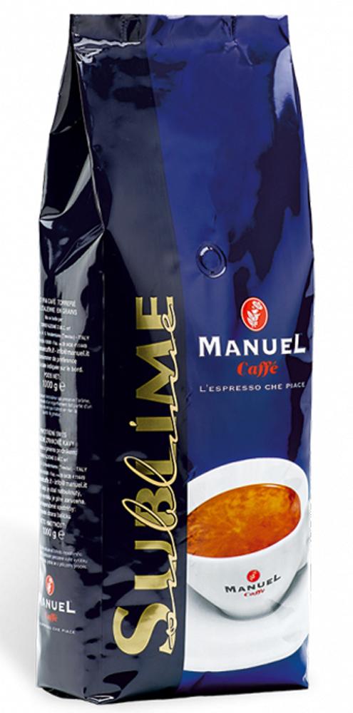 Manuel Sublime кофе в зернах, 1 кг8006536200114Manuel Sublime - кофе для тех, кто выбирает лучшее. Совершенная смесь кофе с неповторимым мягким, ароматно-фруктовым вкусом и приятным устойчивым послевкусием. Его аромат — признак кофе в своих лучших проявлениях!