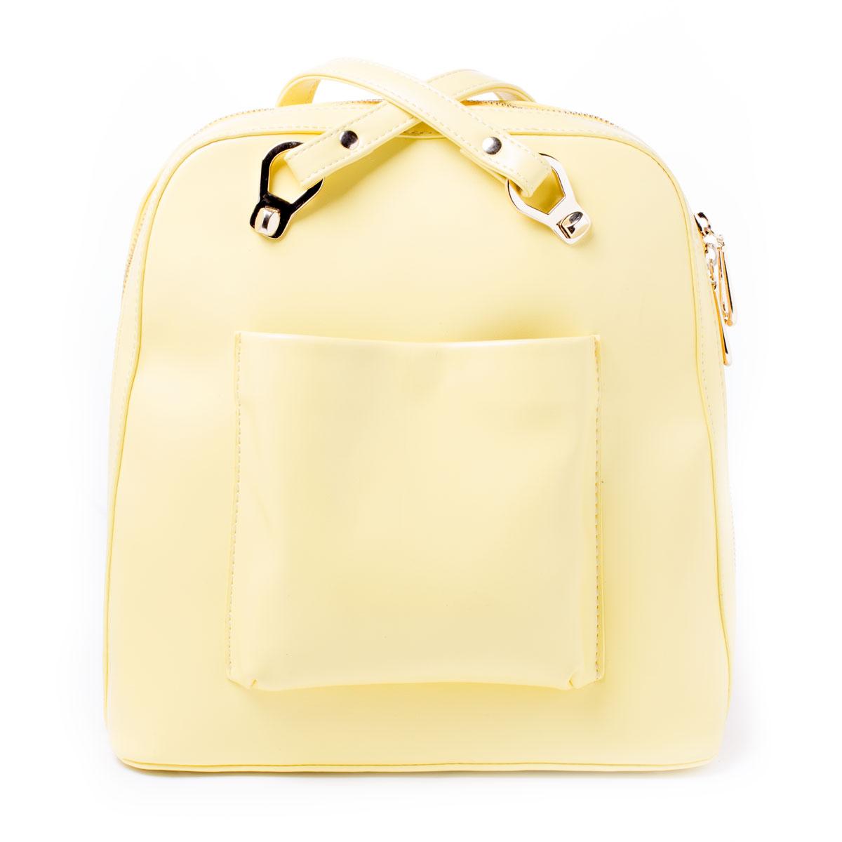 Сумка женская Baggini, цвет: желтый. 29063/8229063/82Сумка жен., иск. кожа