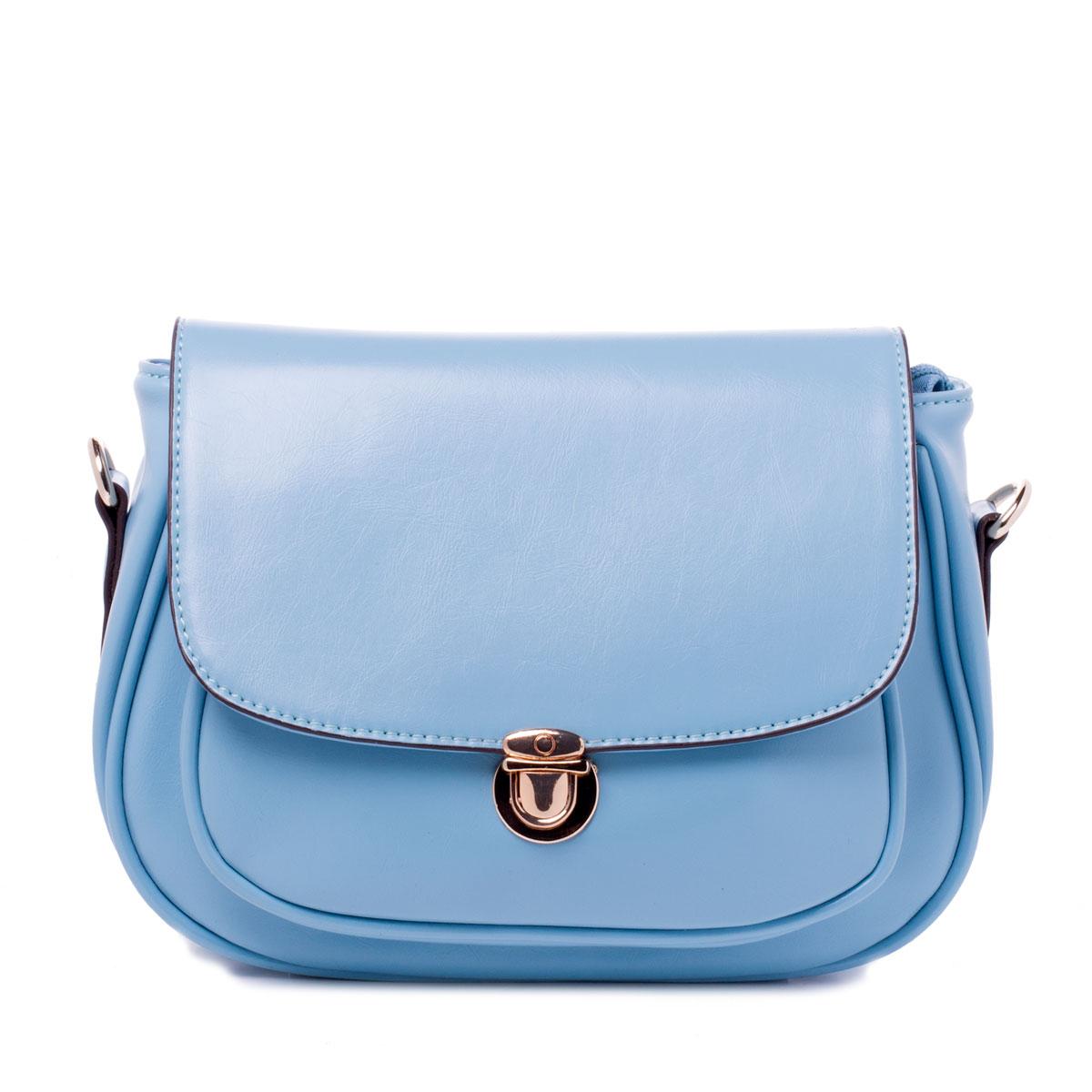 Сумка женская Baggini, цвет: голубой, аква. 29575/4029575/40Сумка жен., иск. кожа