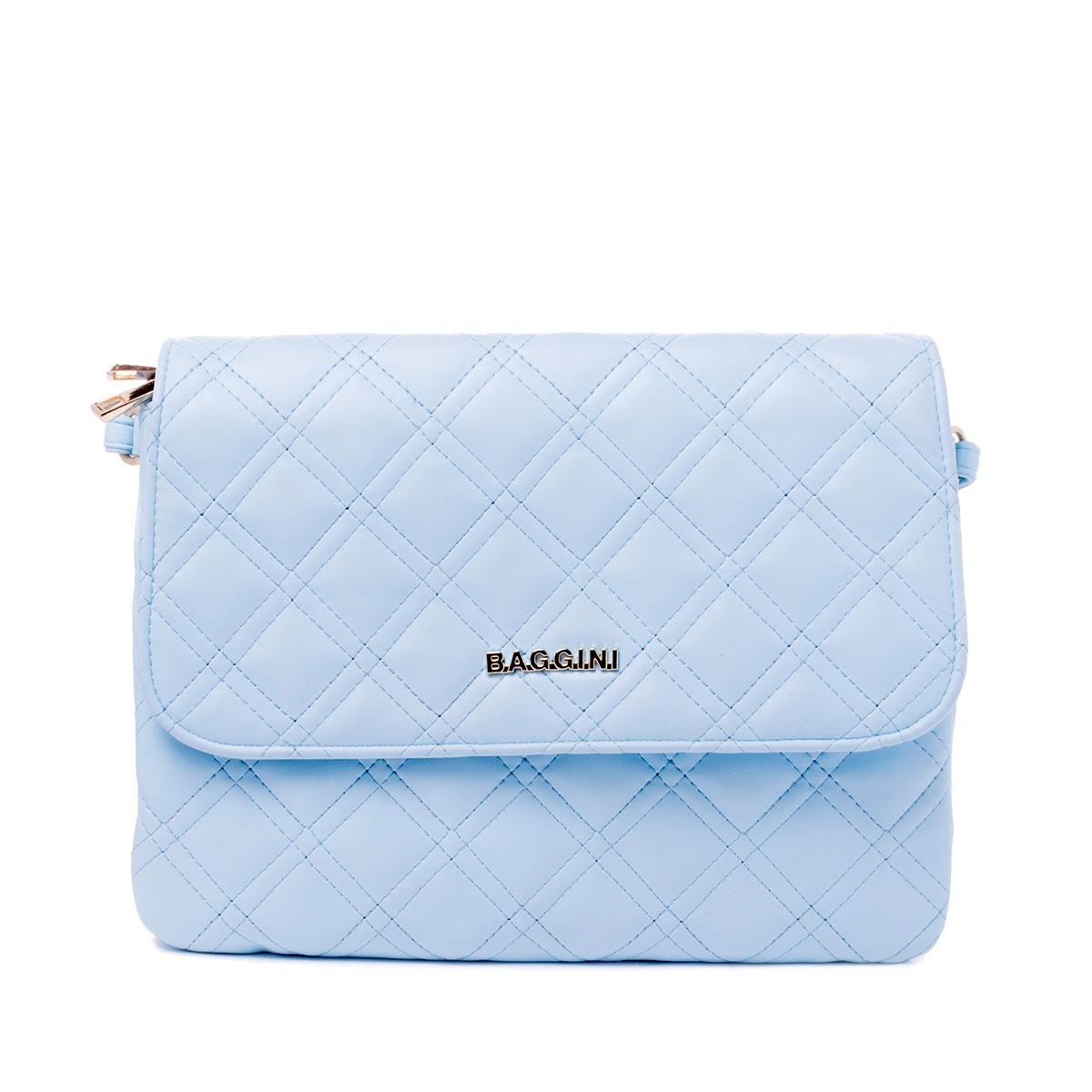 Сумка женская Baggini, цвет: голубой. 29641/4029641/40