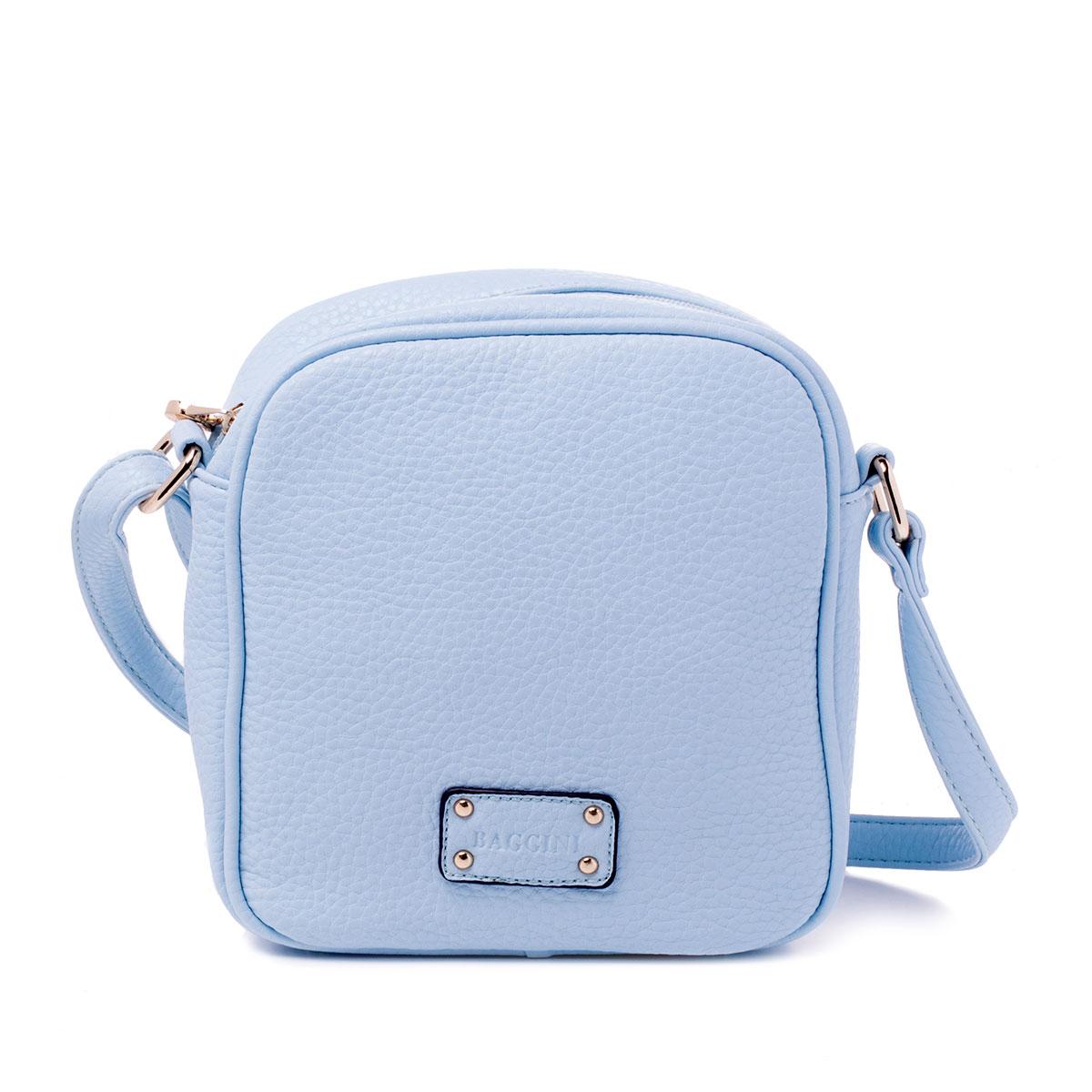 Сумка женская Baggini, цвет: голубой, аква. 29703/4029703/40Сумка жен., иск. кожа