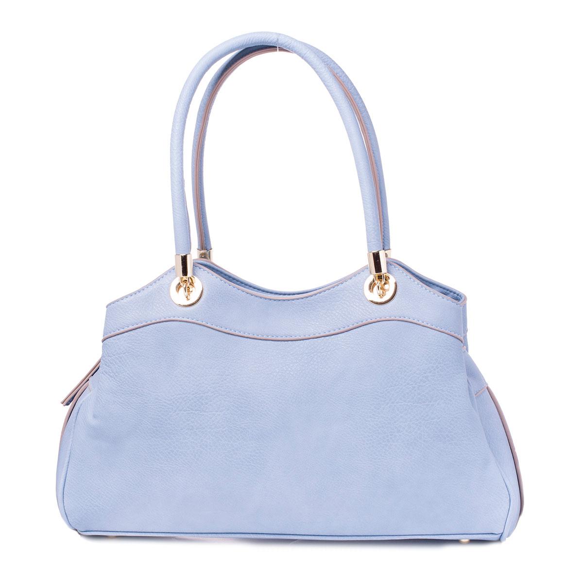 Сумка женская Baggini, цвет: голубой, аква. 29736/4029736/40Сумка жен., иск. кожа