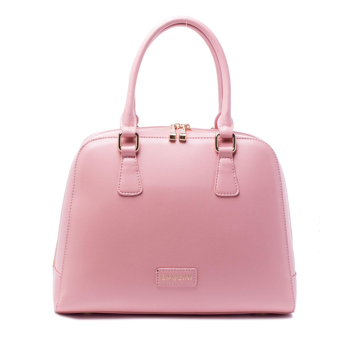 Сумка женская Baggini, цвет: розовый. 29771/6329771/63Сумка жен., иск. кожа