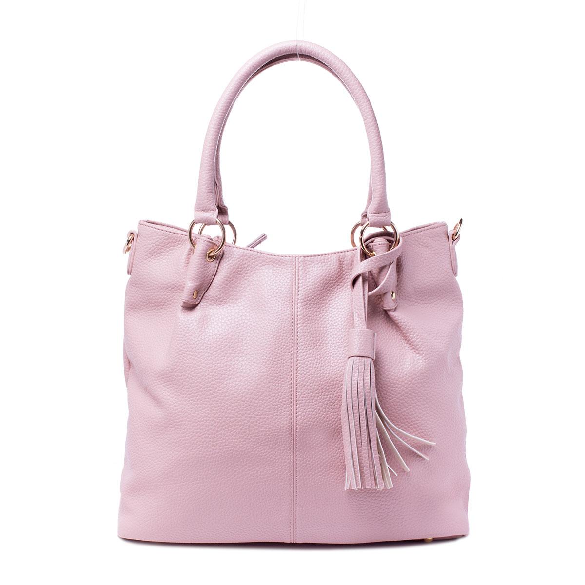Сумка женская Baggini, цвет: розовый. 29785/6329785/63Сумка жен., иск. кожа