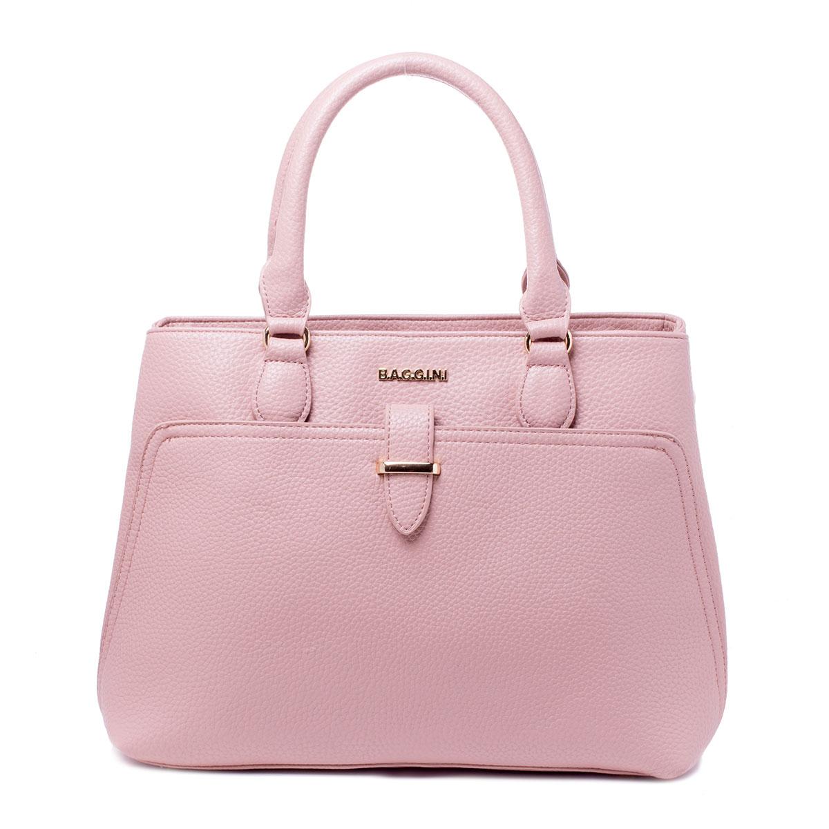 Сумка женская Baggini, цвет: розовый. 29786/6329786/63Сумка жен., иск. кожа