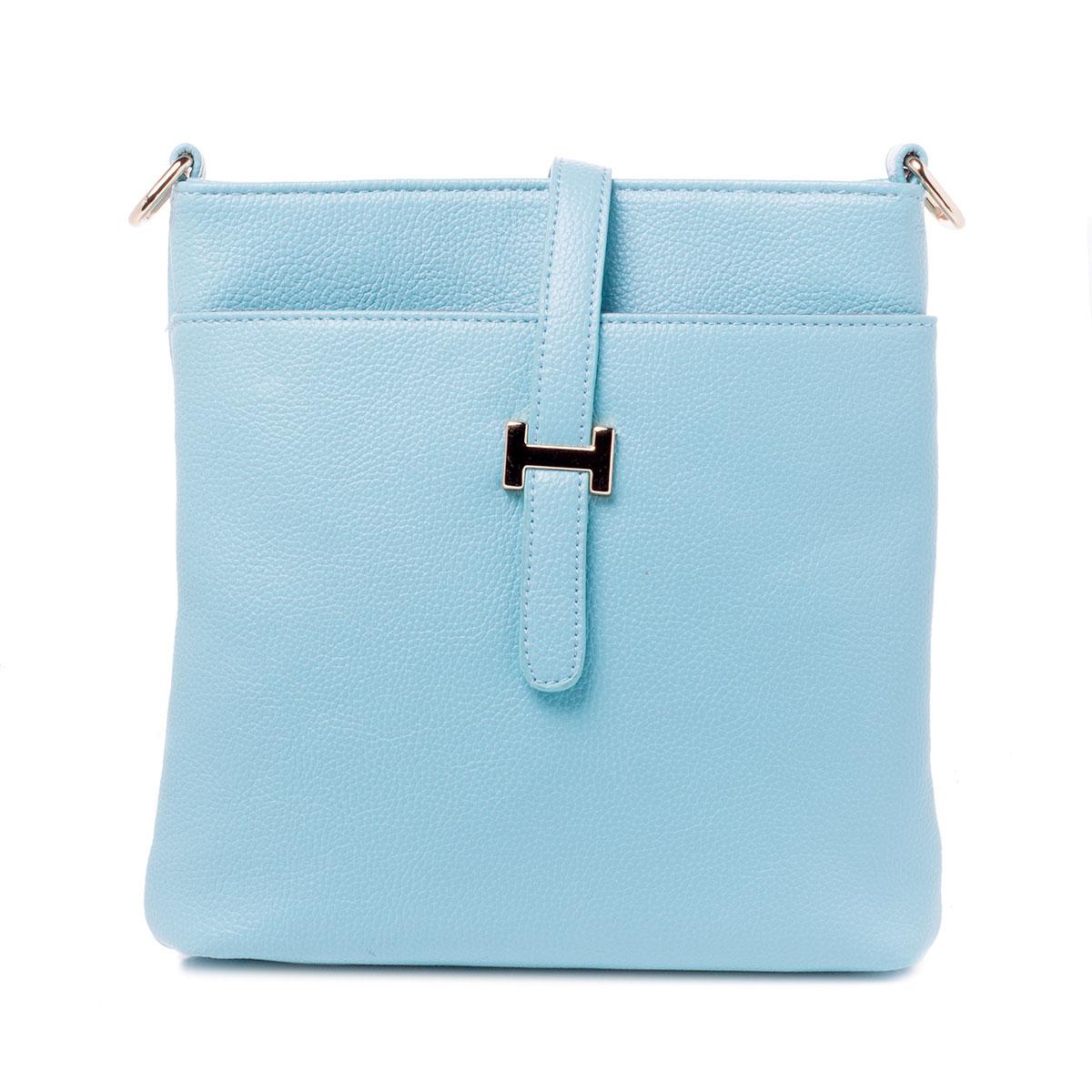 Сумка женская Baggini, цвет: голубой, аква. 29788/4029788/40Сумка жен., иск. кожа