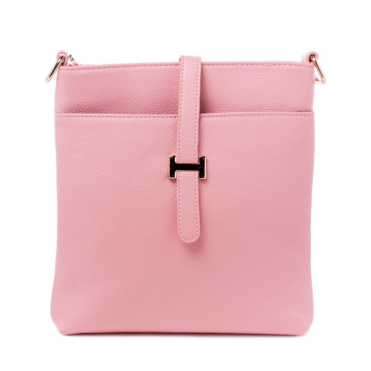 Сумка женская Baggini, цвет: розовый. 29788/6329788/63Сумка жен., иск. кожа