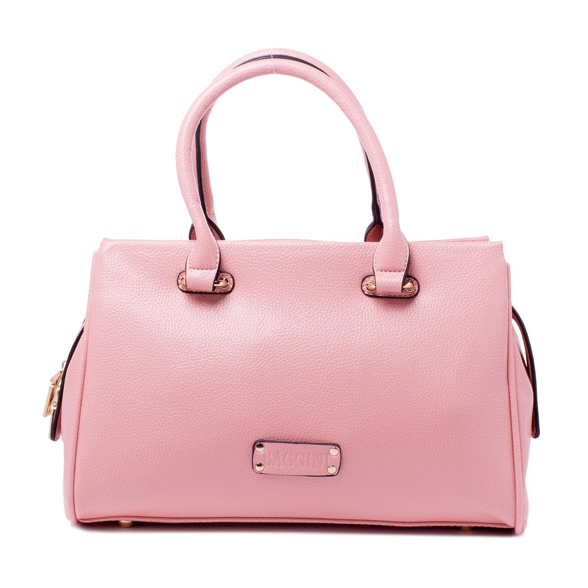 Сумка женская Baggini, цвет: розовый. 29791/6329791/63Сумка жен., иск. кожа