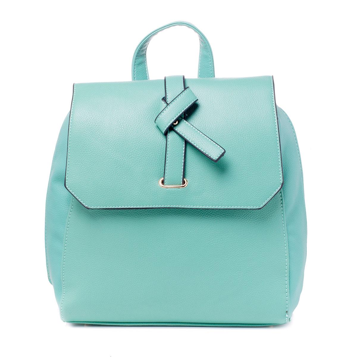 """Сумка-рюкзак женская """"Baggini"""", цвет: бирюзовый. 29793/52"""