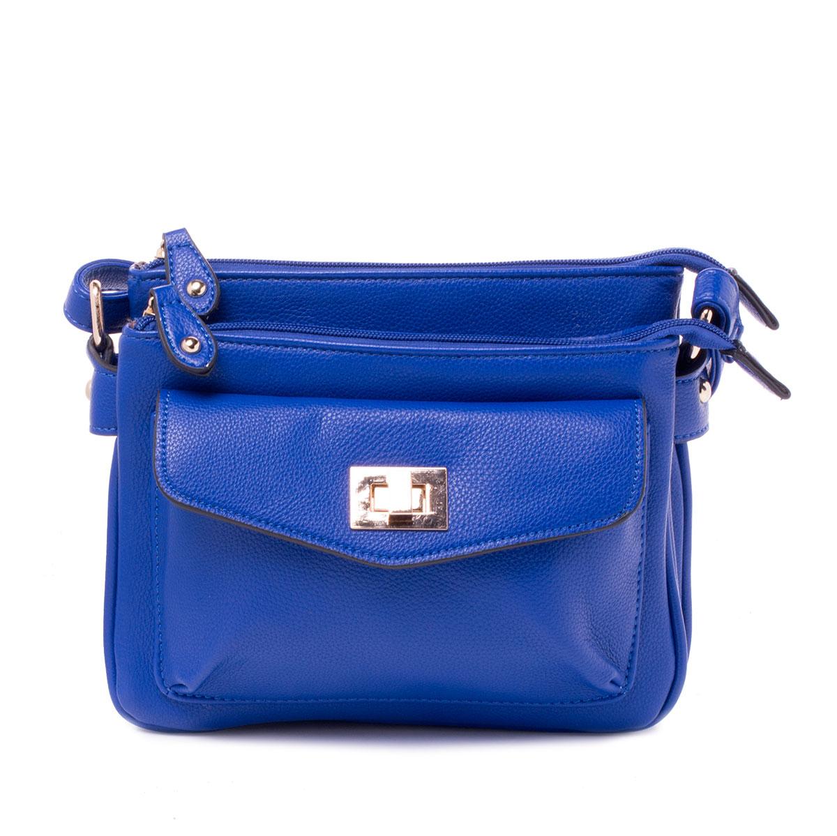 Сумка женская Baggini, цвет: синий. 29794/4329794/43Сумка жен., иск. кожа