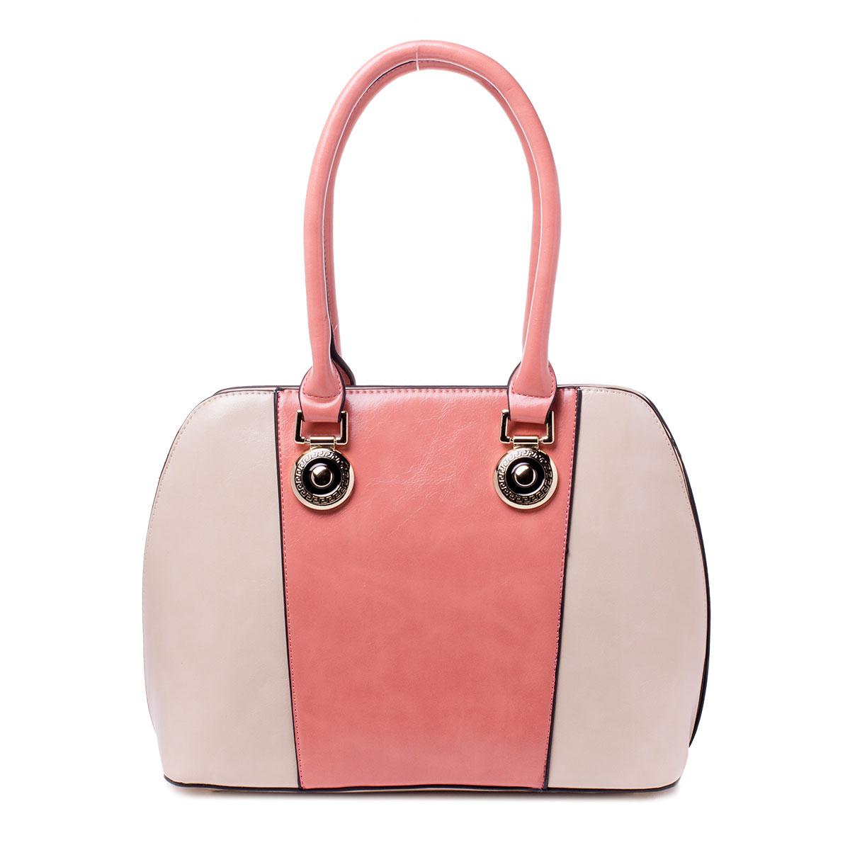 Сумка женская Baggini, цвет: розовый. 29798/6329798/63Сумка жен., иск. кожа