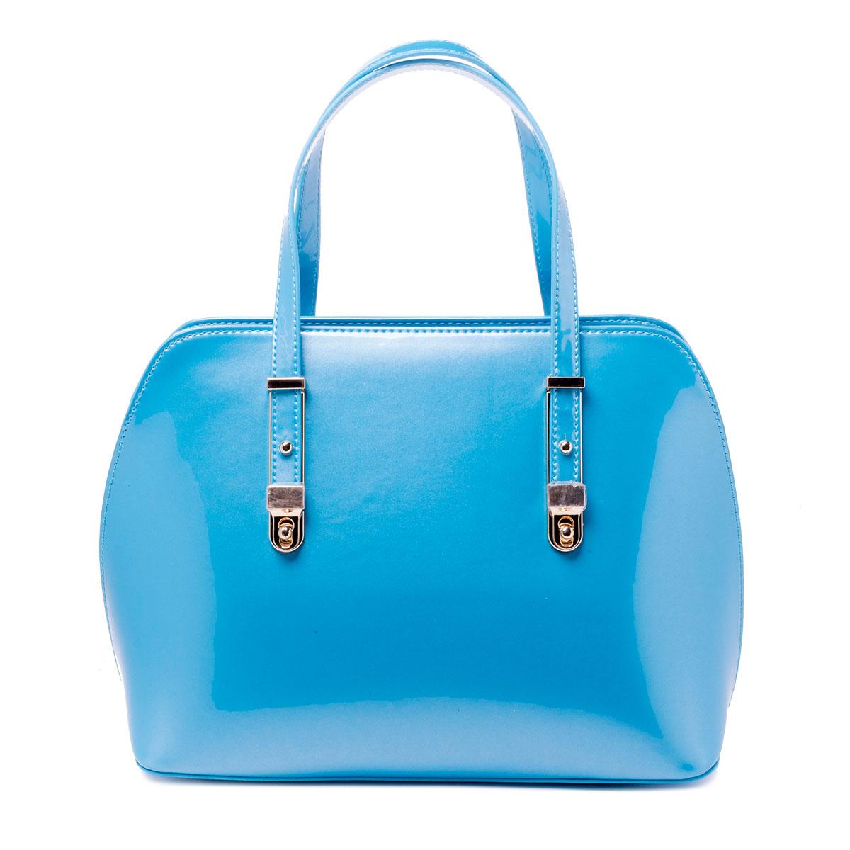 Сумка женская Baggini, цвет: голубой, аква. 35603/4035603/40Сумка жен., иск. кожа