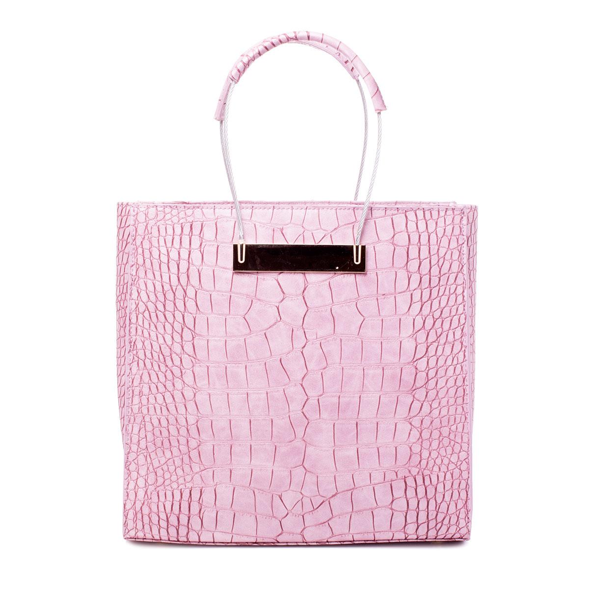 Сумка женская Renee Kler, цвет: розовый. RF026-10RF026-10Сумка жен., иск. кожа