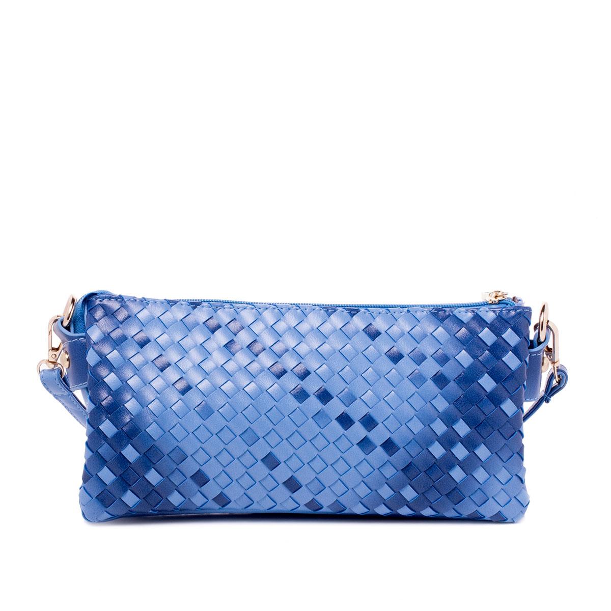 Сумка женская Renee Kler, цвет: голубой. RK431-16RK431-16Сумка жен., иск. кожа