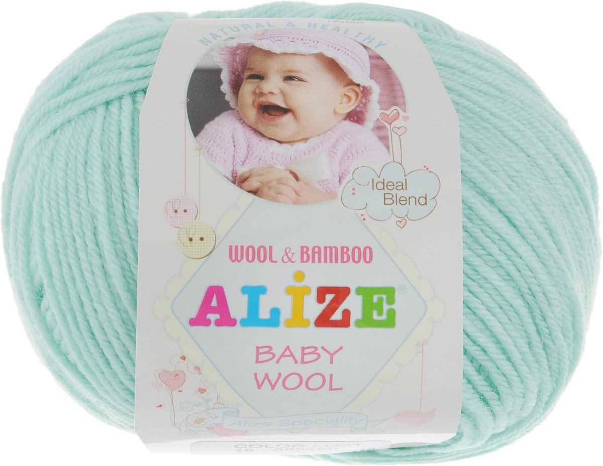 Пряжа для вязания Alize Baby Wool, цвет: мята (19), 175 м, 50 г, 10 шт686501_19Детская пряжа для вязания Alize Baby Wool изготовлена из очень мягкой и высококачественной натуральной шерсти и бамбука. Из пряжи Baby Wool получается тонкий, но очень теплый трикотаж для ребенка. Акрил в составе нитей допускает легкую машинную стирку вещей. Цветовая палитра включает в себя комбинации, которые подходят как для мальчиков, так и для девочек. Рекомендуемый размер спиц: № 2,5-4 мм, Рекомендуемый размер крючка: № 1-3 мм. Комплектация: 10 мотков. Состав: 40% шерсть, 40% акрил, 20% бамбук.